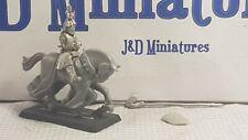 GW Citadel Warhammer Bretonnian Knight Chevaliers De Notre Dame De Bataille 1989
