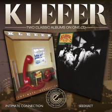 KLEEER-INTIMATE CONNECTION / SEEEKRET-IMPORT CD WITH JAPAN OBI F30