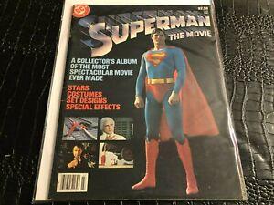 1979 DC COMICS LIMITED COLLECTORS' EDITION C - 62 SUPERMAN the MOVIE