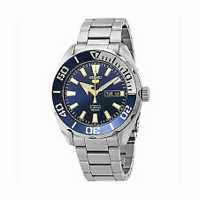 Seiko 5 Sports 100m Automatic Blue Dial Watch Srpc51k1 Mens