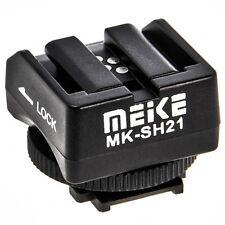 Blitzschuh Adapter von Sony Alpha Blitz auf Sony NEX Kameras - Meike MK-SH21