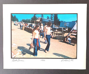 Bill Owens Set of photos Hippie Be-In Portland OR-  4 photographs 1969/2001