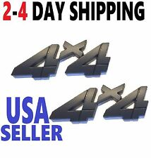 X2 Black 4 X 4 Smoked EMBLEM 4X4 Tractor BADGE TRUCK logo ORNAMENT UNIVERSAL FIT