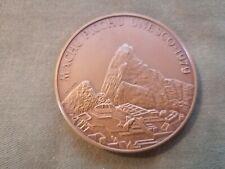 ancienne médaille - jeton en bronze unesco 1979