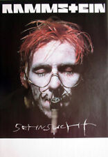 RAMMSTEIN - 1997 - Tourplakat - Helnwein - Sehnsucht - Tourposter