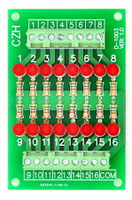 16 Channel Common Cathode LED Indicator Gate Module, 24Vdc Version.