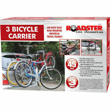 3 BICYCLE CARRIER CAR RACK BIKE TRAILER NEW CYCLE UNIVERSAL SALOON
