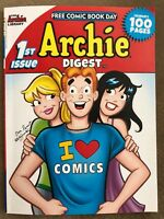 ARCHIE DIGEST 1st Issue, I Love Comics.