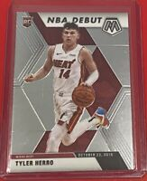 2019-20 Panini Mosaic Basketball Tyler Herro Rookie NBA DEBUT Miami Heat #280 RC