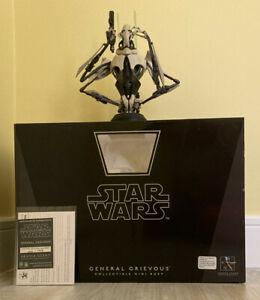Star Wars General Grievous Revenge Sith Gentle Giant Collectible Mini Bust 2006