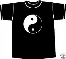 Yin Yang Taijitu CINESE TAI CHI simbolo T-SHIRT X-Large