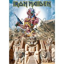 IRON MAIDEN POSTCARD: SOMEWHERE BACK IN TIME (STANDARD) Official Merchandise