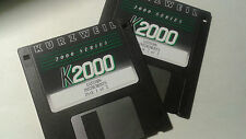 Kurzweil ~ K2000 ~ EASTERN INSTRUMENTS ~ 2 Disk Set of Krz/V.A.S.T. Programs!!!