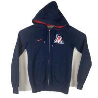 Nike Women's University of Arizona Hooded Hoodie Sweatshirt M Wild Cats
