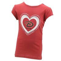 Arizona Diamondbacks MLB Genuine Infant Toddler Girls Size T-Shirt New with Tags