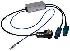 Adaptateur séparateur d'antenne autoradio FAKRA-ISO pour Audi VW Seat Skoda