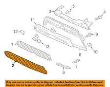 MITSUBISHI OEM 10-15 Lancer Front Bumper-Lower Bottom Grille Grill 6402A110