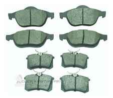 RENAULT SCENIC MK2 2004-2009 FRONT & REAR BRAKE DISC PADS NEW (ATE TYPE CALIPER)