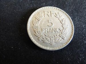 1949 5 Franc French Coin