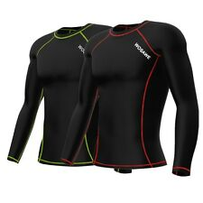 Mens Thermal Compression Base Under Layers Tights Tops T-Shirts Golf Skin Gear