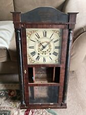 Rochester Ny Wooden Works Antique Clock Wood Works A.Smith & Co