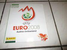 Panini EM 2008 Sammelalbum EURO 08 KOMPLETT Album mit allen Sticker Stickeralbum