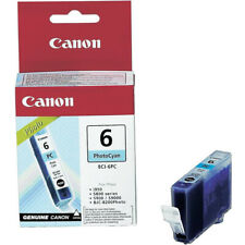 Genuine Canon BCI-6PC Photo Cyan Ink Cartridge Canon Pixma iP3000 iP4000 iP4000R