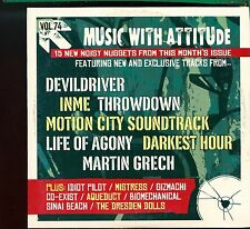 Rock Sound - Music With Attitude Magazine CD / No.74 - July 2005 - MINT