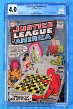 Justice League of America #1 DC 1960 CGC 4.0 (OW) Origin & 1st Appear Despero!
