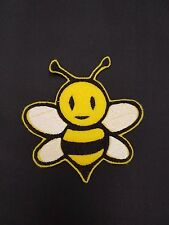Cute Kids Bee Embroidered Patch Badge Iron on or sew