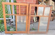 Pr Of Oak Arts And Crafts Vintage Short Doors For Repurpose