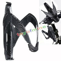 Carbon Fiber Bike Cycling Water Bottle Holder Holding Rack Cage Lightweight Hot