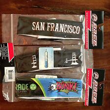"2 San Francisco 2"" Coolmax Team Cycling Headbands + Free Bonk Headband 3 Total!"
