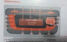 Asiento CD MP3 Radio Estéreo Sistema propietarios Manual De Instrucciones Manual De Medios AUX-IN