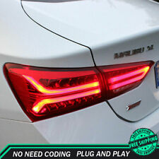 New For Chevrolet Malibu LED Taillights 2016-2019 Red LED Rear Lamps Dynamic