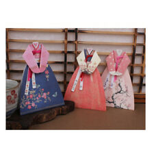 2018 Cards Thanks Greeting Anniversary Hanbok Korean Traditional Clothes 3 Pcs