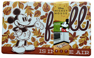 """Disney Mickey Mouse Anti-Fatigue Kitchen Mat Fall Leaves Thanksgiving 18"""" x 30"""""""