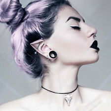 Small Bison Skull Choker White Tour de cou The Rogue + The Wolf Gothic Gothique