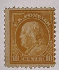 Travelstamps: 1917-19 US Stamps Scott # 510, mint, og, Lightly hinged, 10cents