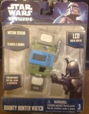 Star Wars -  Spyware - Bounty Hunters Watch - Flashes & Sound - LCD
