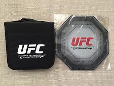 UFC *16 CD/DVD CASE WALLET HOLDER STORAGE ORGANIZER & MOUSE PAD