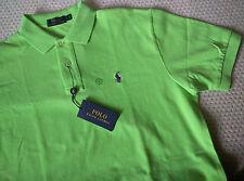 NWT Polo Ralph Lauren Men's Classic Fit Mesh Pony Polo Shirt, FLORIDA GREEN, L