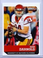 "SAM DARNOLD 2017 SI ""1 OF 9"" 1ST EVER PRINTED COLLEGE ROOKIE CARD! USC TROJANS!"