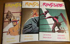 Ringside #1 #2 #3 Lot 1st Prints Read Once Nice High grades