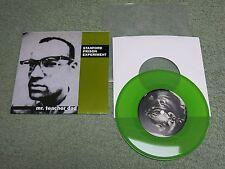 STANFORD PRISON EXPERIMENT Mr teacher dad US WORLD DOMINATION 7-inch Green Vinyl