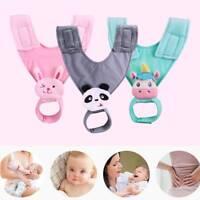 Baby Stroller Cartoon Bottle Holder Feeding-Bottle Sling Infant Feeding 3 Color