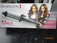 Curling Tongs by Remington - 2 in 1 CURLS -