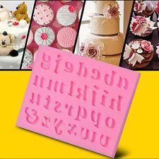 Torta di Silicone Stampo Zucchero Fondente Craft Stampo Decorazione Lettera