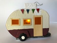 Mobile Home Ornament with Light