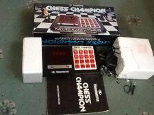 Campeón de la computadora de ajedrez Vintage videomaster En Caja Completa